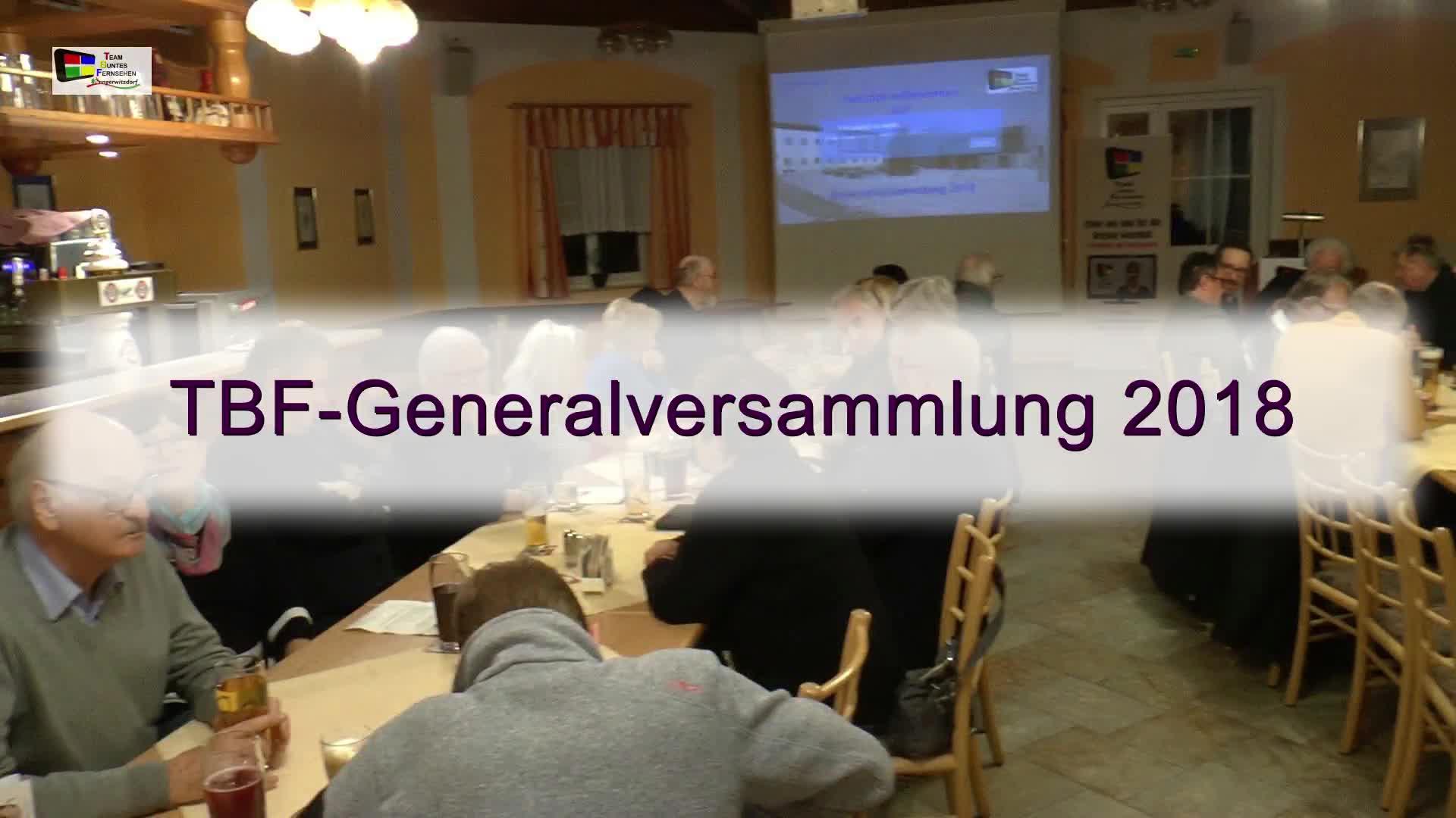TBF-Generalversammlung