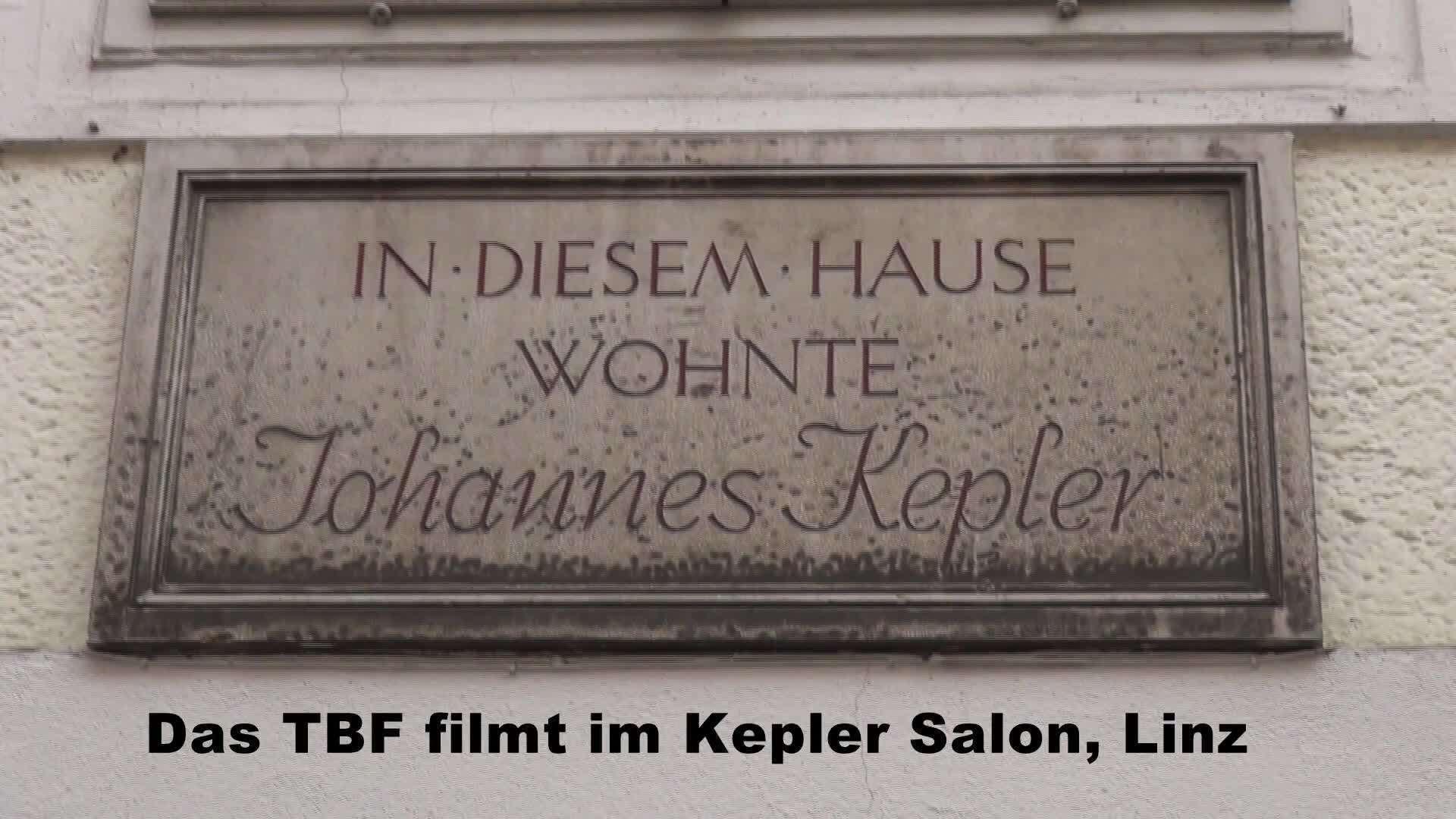 TBF filmt im Kepler Salon Linz