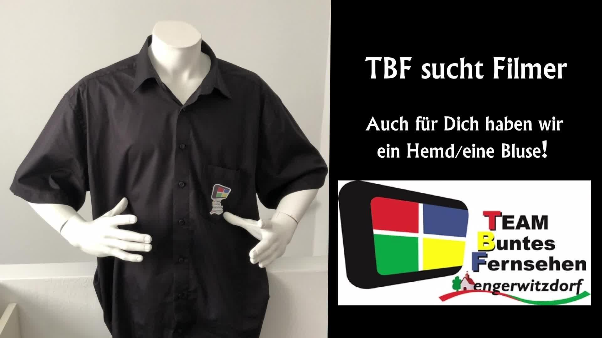TBF sucht Filmer