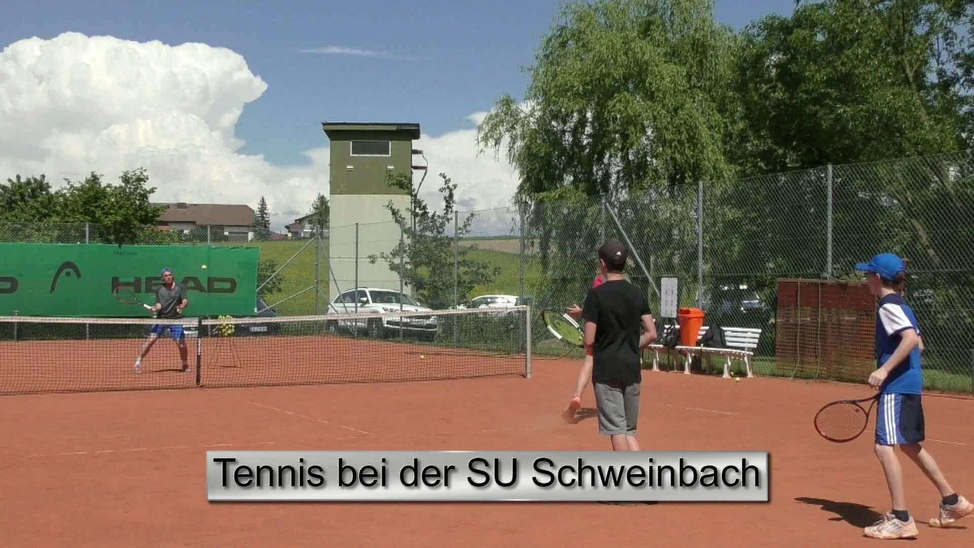 Tennis bei der SU Schweinbach