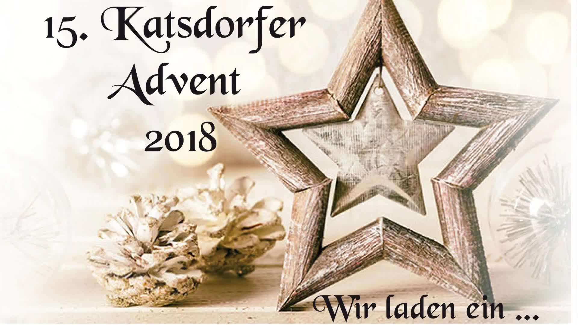 Vorankündigung Advent am Dorfplatz in Katsdorf