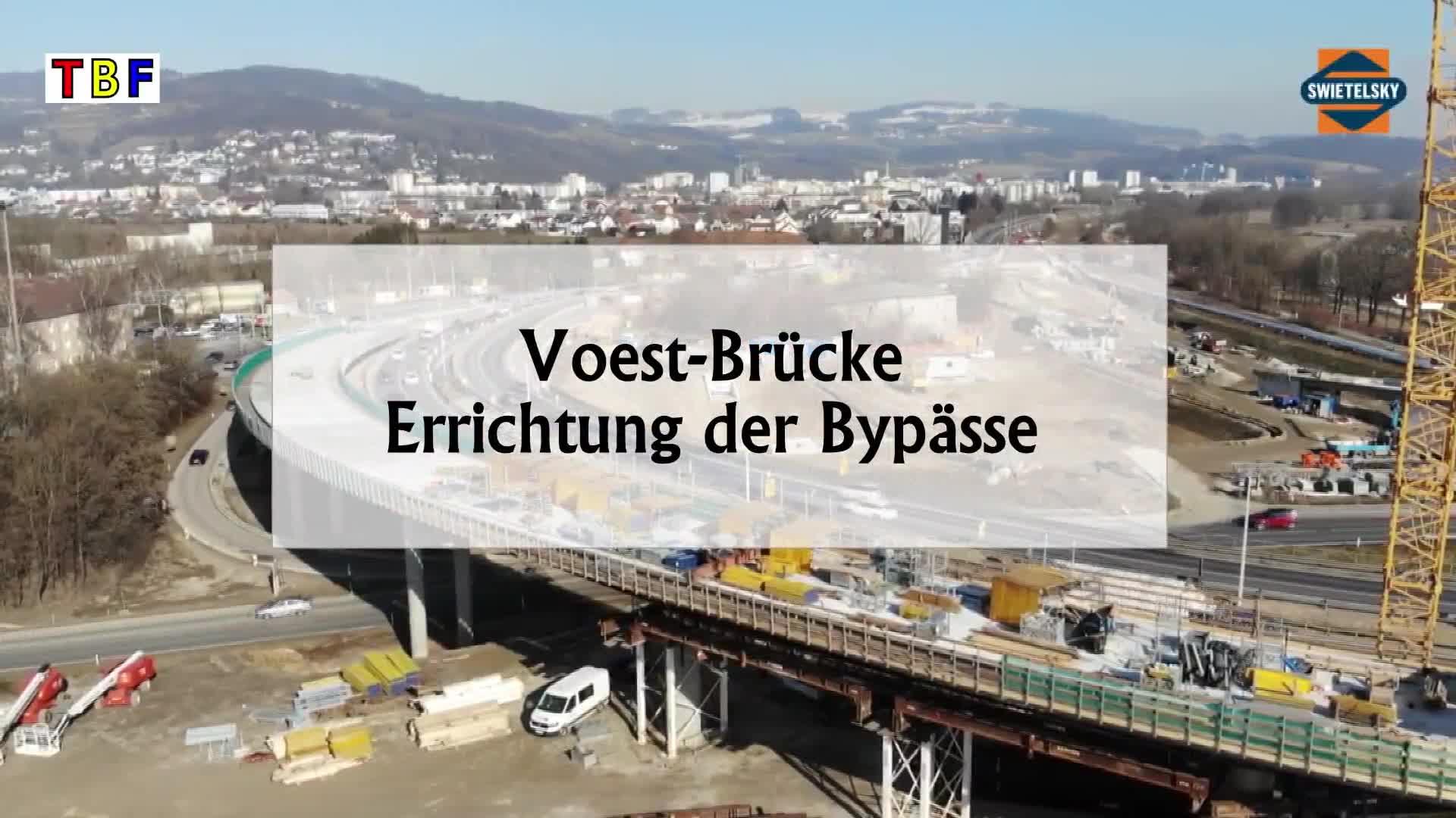 Voest Brücke -Bypässe