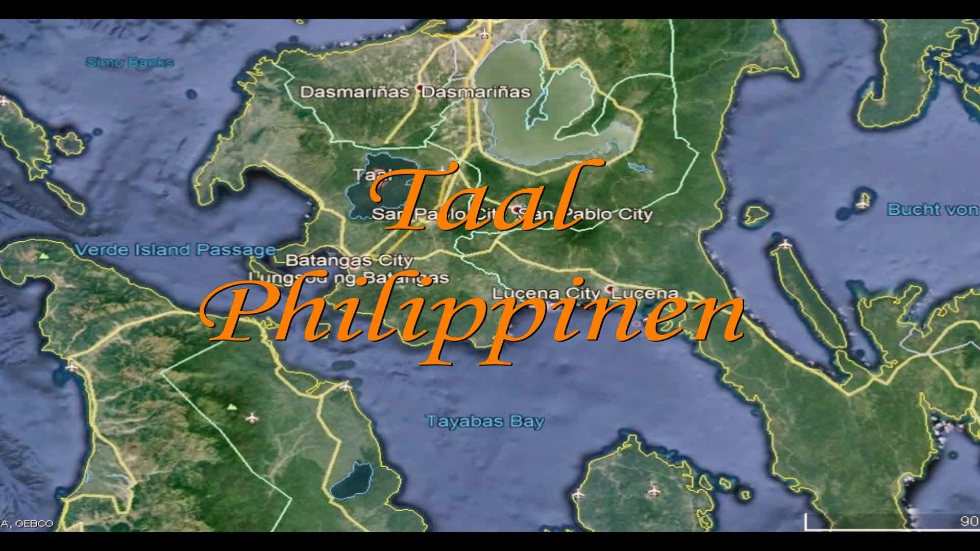 Vulkan Taal Philippinen