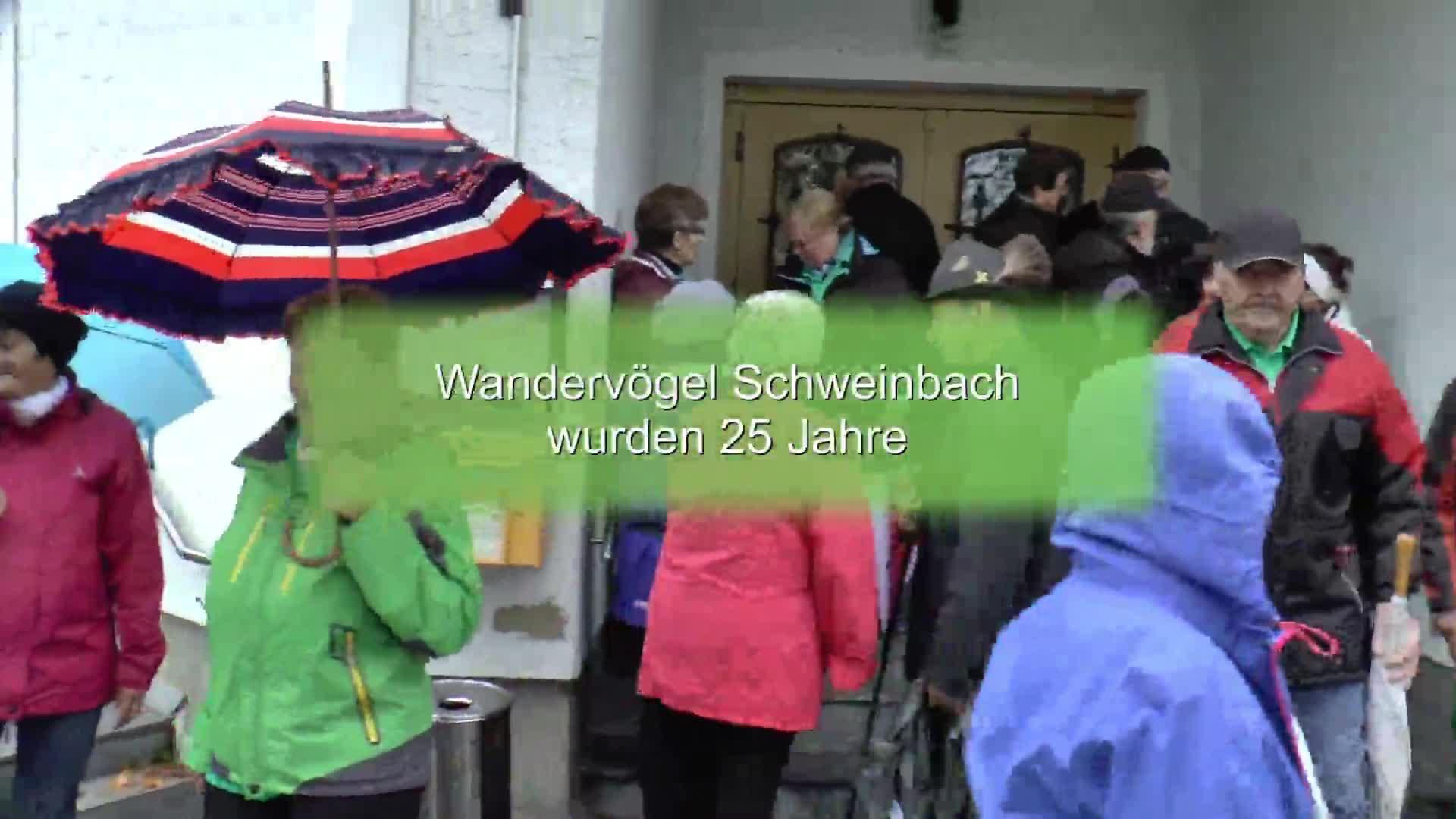 Wandervögel Schweinbach wurden 25
