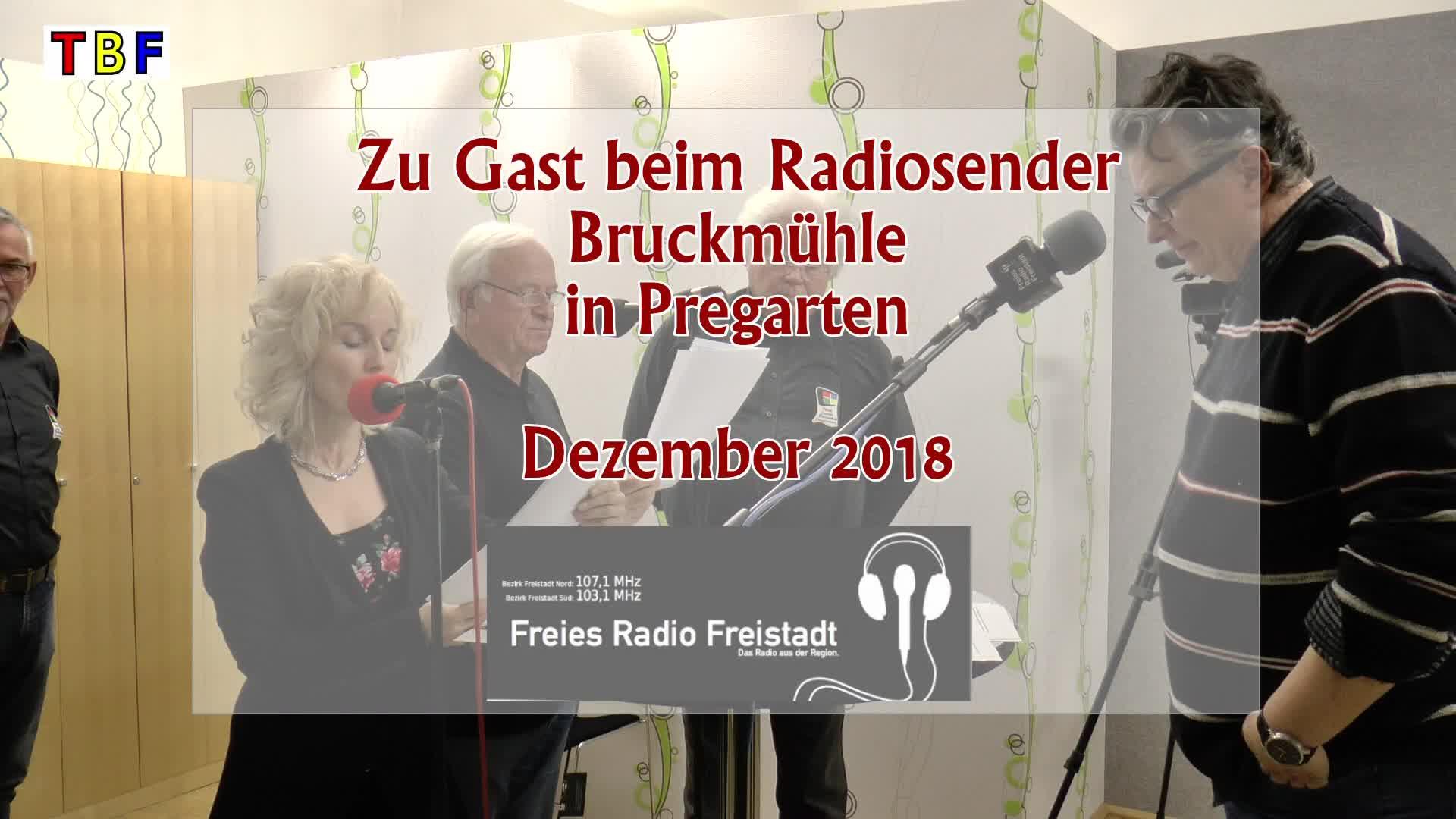 Zu Gast beim Radio Bruckmühle