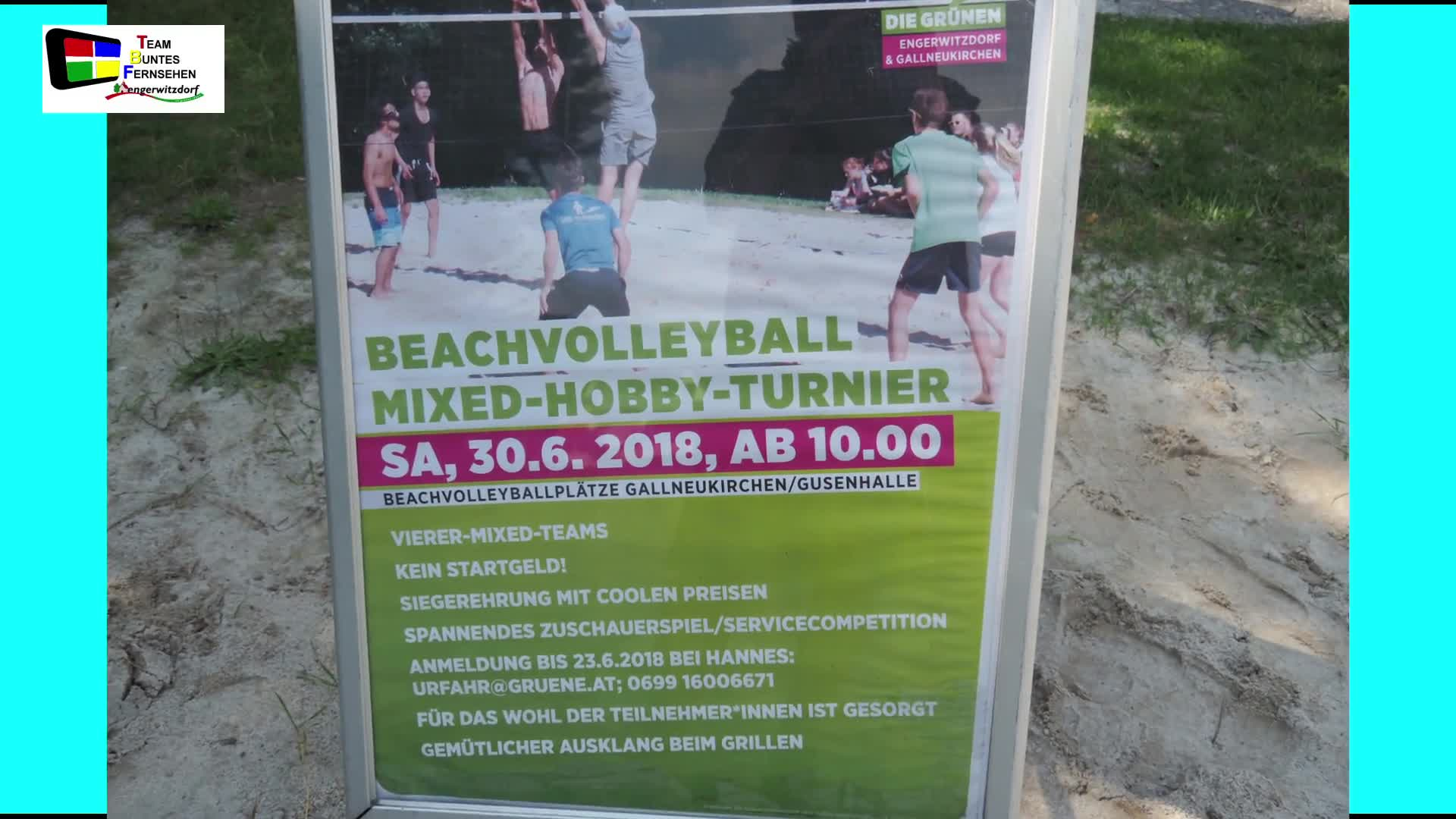 Zweites Beachvolleyballturnier in Gallneukirchen